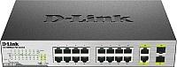 Коммутатор D-Link DES-1018P/A2A -