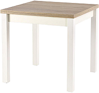 Обеденный стол Halmar Gracjan (дуб сонома/белый) -