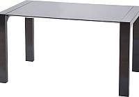 Обеденный стол Halmar Kevin (черный) -