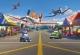 Фотообои Komar Planes Pit Stop 1-474 (184x127) -