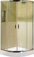 Душевой уголок Coliseum KS-619A 90x90 (тонированное стекло) -