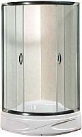 Душевой уголок Coliseum Classic Premium KS-618B 90x90 (матовое стекло) -