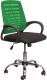 Кресло офисное Седия Ares (зеленый/черный) -