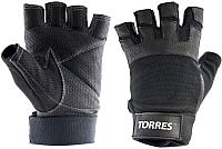 Перчатки для пауэрлифтинга Torres PL6051M (M) -