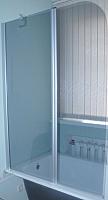 Стеклянная шторка для ванны Coliseum SC-02 (тонированное стекло) -