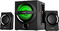 Мультимедиа акустика F&D A140X (черный) -