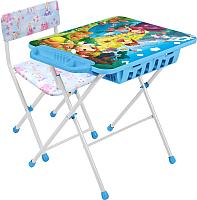 Комплект мебели с детским столом Ника КУ2П/16 Волшебный мир принцесс -