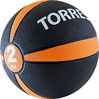 <b>Starfit GB</b>-<b>703</b> (3кг, желтый) <b>Медицинбол</b> (набивной мяч) 16 см ...