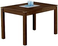 Обеденный стол Halmar Maurycy (темный орех) -
