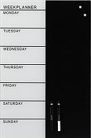 Магнитно-маркерная доска Naga Weekplanner 12002 (40x60) -