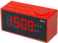 Радиочасы Ritmix RRC-1212 (красный) -