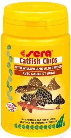 Купить Корм для рыб Sera, Catfish Chips 510, Германия