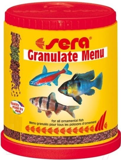 Купить Корм для рыб Sera, Granulate Menu 0070, Германия