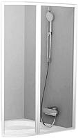 Стеклянная шторка для ванны Ravak Rosa VSK2 150 R (76P80100Z1) -