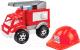 Автомобиль игрушечный ТехноК Малыш-пожарный 3978 -
