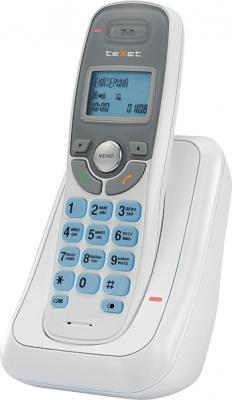 Беспроводной телефон Texet TX-D6905A (белый) - вид сбоку