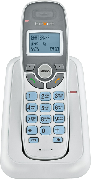 Беспроводной телефон Texet TX-D6905A (белый) Кобрин Прокупка товаров