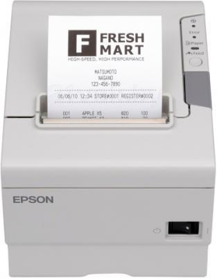 Чековый принтер Epson TM-T88V (C31CA85833) - общий вид