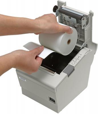 Чековый принтер Epson TM-T88V (C31CA85833) - заправка ленты
