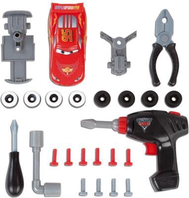 Верстак-стол игрушечный Smoby Ремонтная мастерская Тачки с машинкой Маккуин (500189) - набор