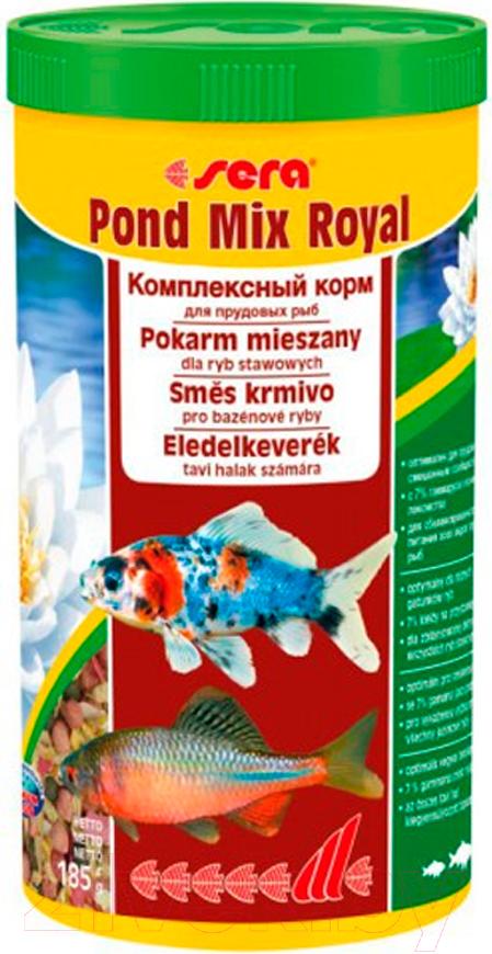 Купить Корм для рыб Sera, Pond Mix Royal 7100, Германия