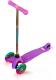 Самокат Sundays SA-100S-5 (фиолетовый, светящиеся колеса) -