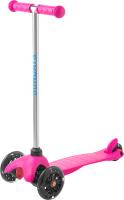 Самокат Sundays SA-100S-1 (розовый, светящиеся колеса) -