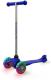 Самокат Sundays SA-100S-4 (голубой, светящиеся колеса) -