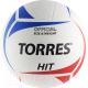 Мяч волейбольный Torres Hit V30055 (размер 5) -