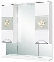 Шкаф с зеркалом для ванной Onika Флорена 78.01 (207802) -