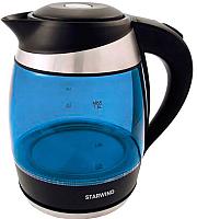 Электрочайник StarWind SKG2216 (синий/черный) -