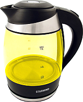 Электрочайник StarWind SKG2215 (желтый/черный) -
