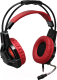 Наушники-гарнитура Redragon Lester / 64205 (красный/черный) -