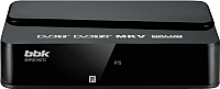 Тюнер цифрового телевидения BBK SMP001HDT2 (черный) -
