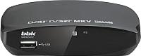Тюнер цифрового телевидения BBK SMP002HDT2 (темно-серый) -
