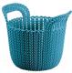 Корзина Curver Knit XS 03671-X65-00 / 230795 (морская волна) -
