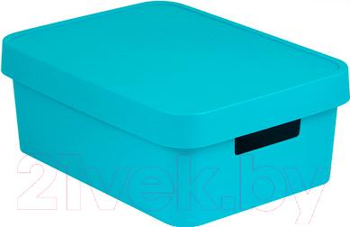 Ящик для хранения Curver, Infinity 04752-X34-00 / 229247 (синий), Польша, пластик  - купить со скидкой