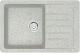Мойка кухонная Berge BR-7602 (серый) -