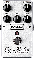 Педаль электрогитарная MXR M75 Super Badass Distortion -