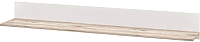 Полка Мебель-Неман Селена МН-224-06 (дуб бордо/белый глянец) -