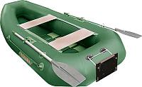 Надувная лодка Мнев и Ко Мурена 270 MR2 (зеленый) -