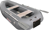 Надувная лодка Мнев и Ко Мурена 270 MR2 (серый) -