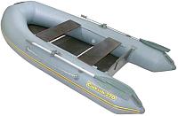 Надувная лодка Мнев и Ко CatFish CF-270 (серый) -