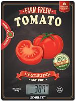 Кухонные весы Scarlett SC-KS57P15 (томат) -
