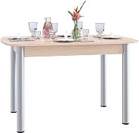 Обеденный стол Сокол-Мебель СО-3м (дуб беленый) -