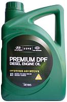 Моторное масло Hyundai/KIA Premium DPF Diesel 5W30 / 0520000620 (6л) -
