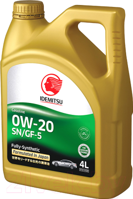 Моторное масло Idemitsu 0W20 SN/GF-5 / 30021328-746 (4л)