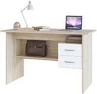 Письменный стол Сокол-Мебель СПМ-07.1 (дуб сонома/белый) -