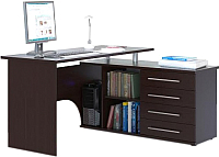 Компьютерный стол Сокол-Мебель КСТ-109 (правый, венге) -