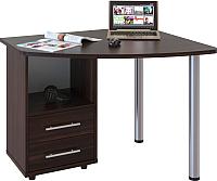 Письменный стол Сокол-Мебель КСТ-102 (левый, венге) -